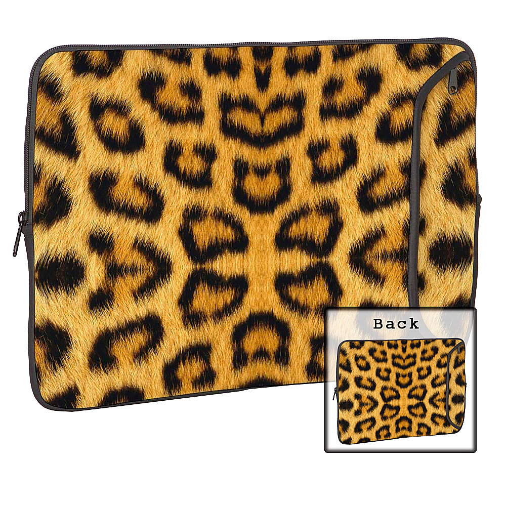 Designer Sleeves 17 Designer Laptop Sleeve Leopard - Designer Sleeves Electronic Cases - Technology, Electronic Cases