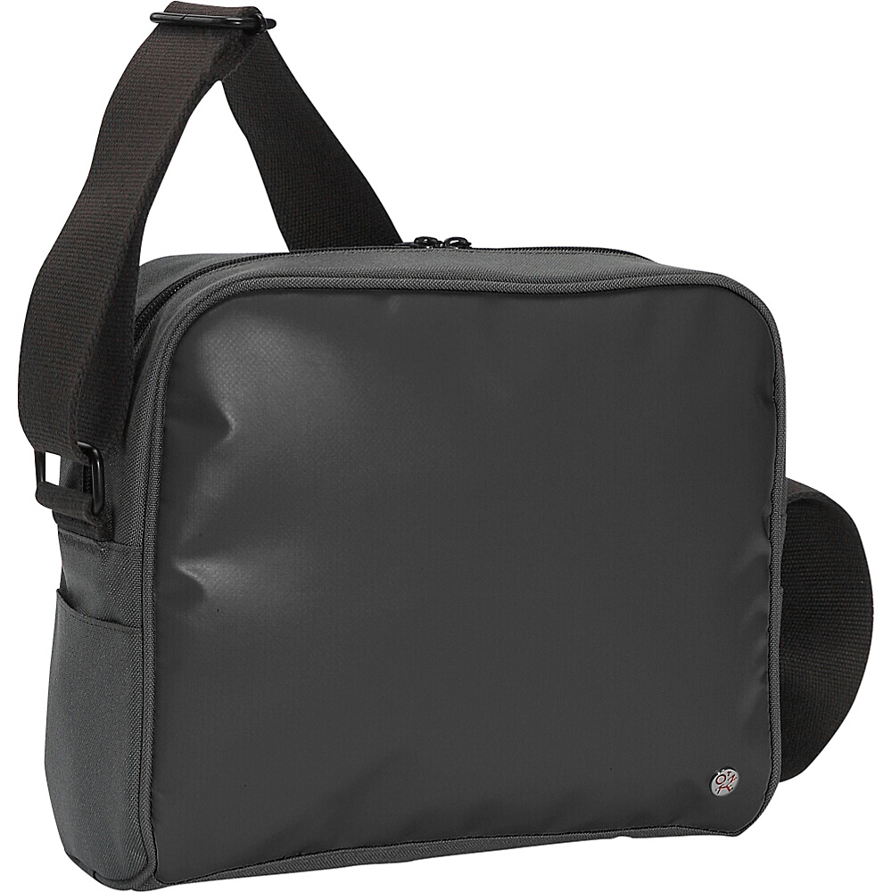 TOKEN Pacific Flight Bag Black - TOKEN Travel Shoulder Bags