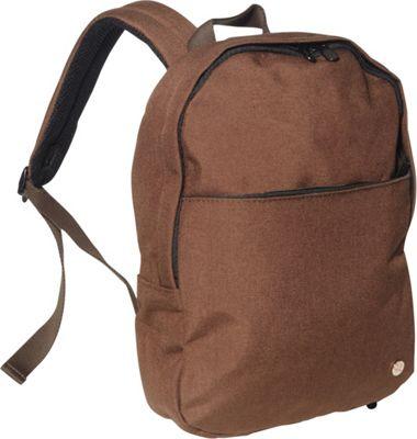 TOKEN University Backpack [S] Dark Brown - TOKEN Everyday Backpacks