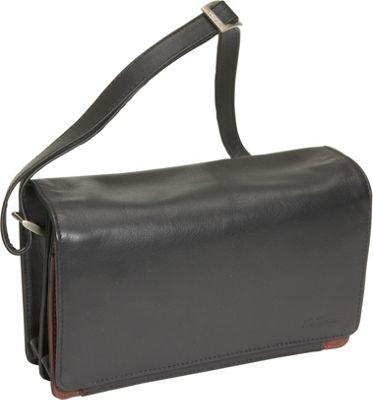 Derek Alexander Full Flap Organizer Handbag