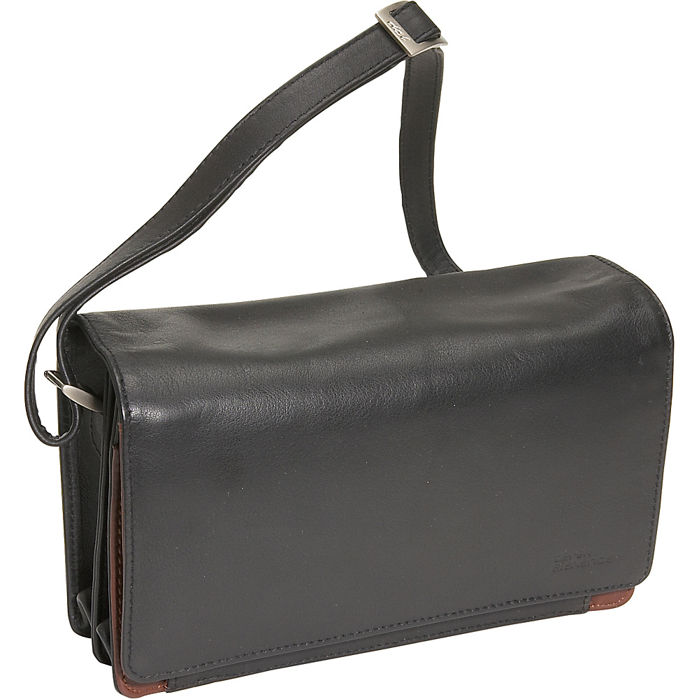 Derek Alexander Full Flap Organizer Handbag - Handbags, Leather Handbags