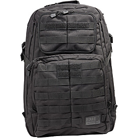 RUSH24 Backpack Black