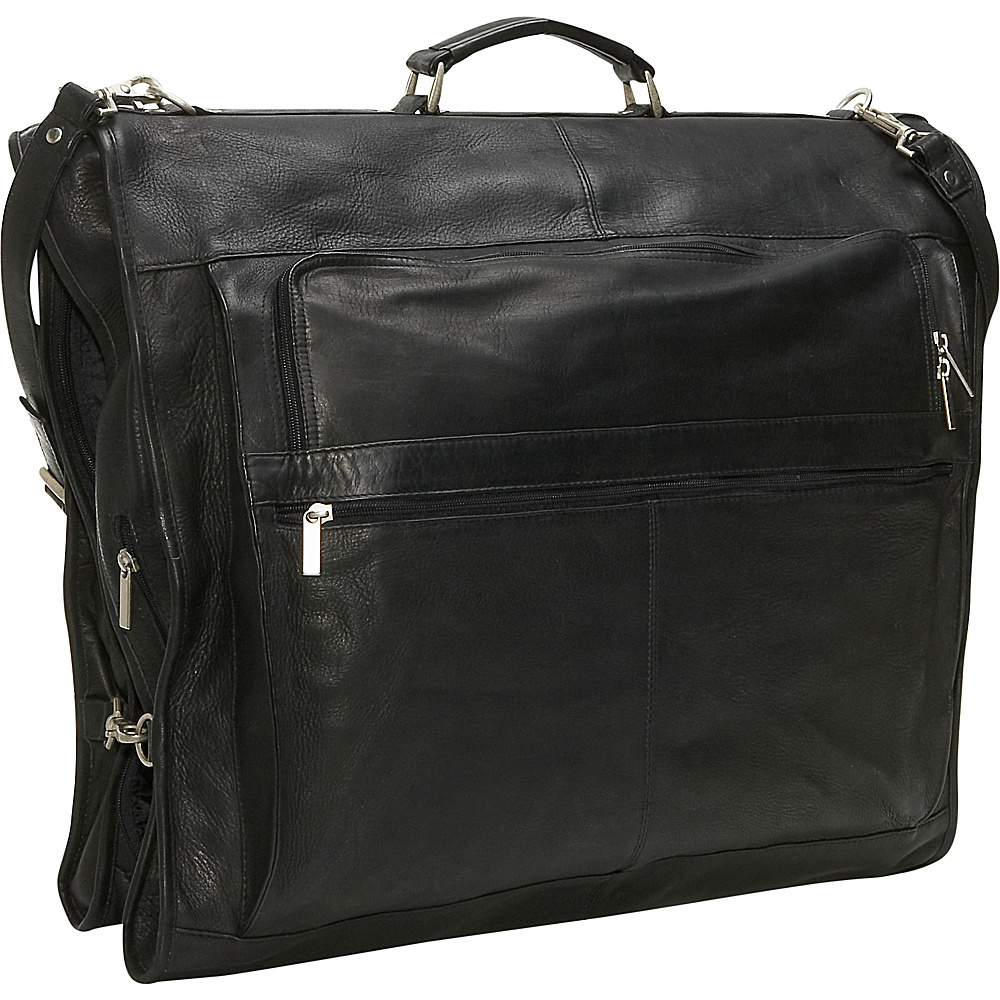 David King & Co. 42 Deluxe Garment Bag Black - David King & Co. Garment Bags - Luggage, Garment Bags