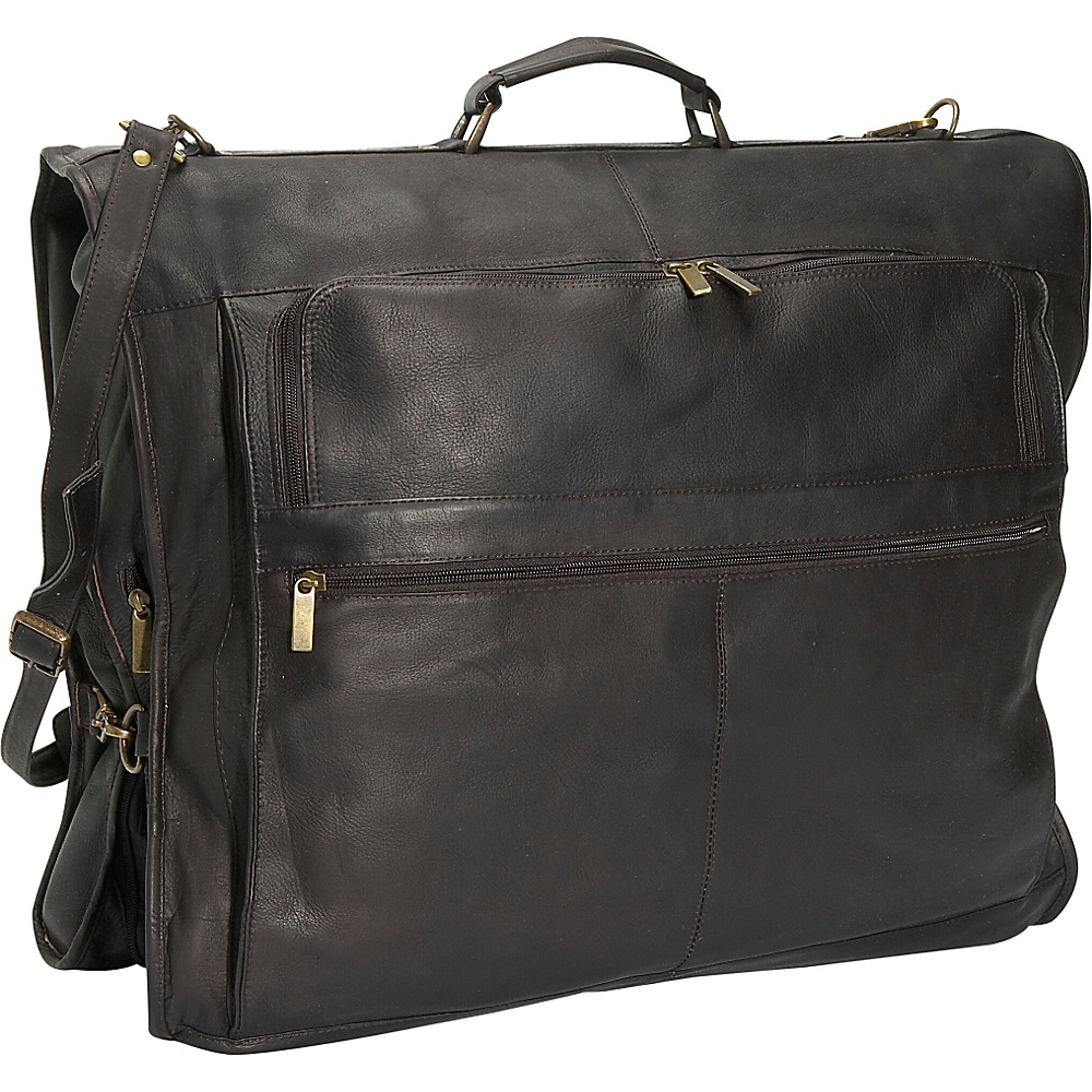 David King & Co. 42 Deluxe Garment Bag Cafe - David King & Co. Garment Bags - Luggage, Garment Bags