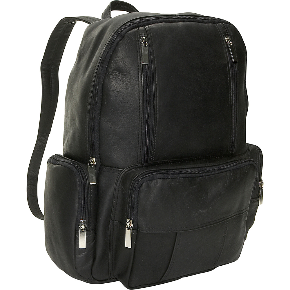 David King & Co. Laptop Backpack Black - David King & Co. Business & Laptop Backpacks - Backpacks, Business & Laptop Backpacks