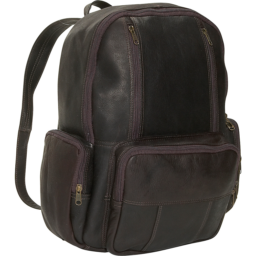 David King & Co. Laptop Backpack Cafe - David King & Co. Business & Laptop Backpacks - Backpacks, Business & Laptop Backpacks