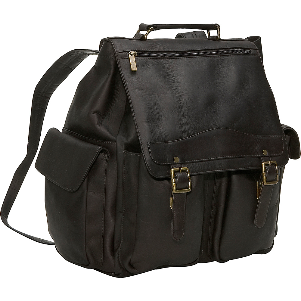 David King & Co. Jumbo Top Handle Backpack Cafe - David King & Co. Manmade Handbags - Handbags, Manmade Handbags