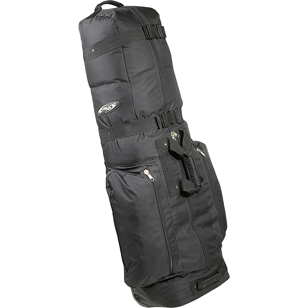 Caddy Daddy Golf CDX-10 Golf Travel Cover w/wheels Black - Caddy Daddy Golf Golf Bags - Sports, Golf Bags