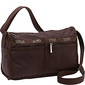Deluxe Shoulder Satchel Coffee