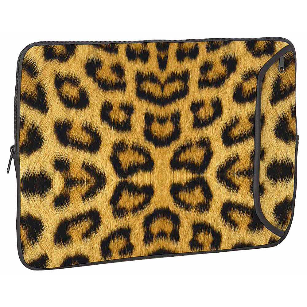 Designer Sleeves Designer Sleeve for 15 MacBook Po Leopard - Designer Sleeves Electronic Cases - Technology, Electronic Cases