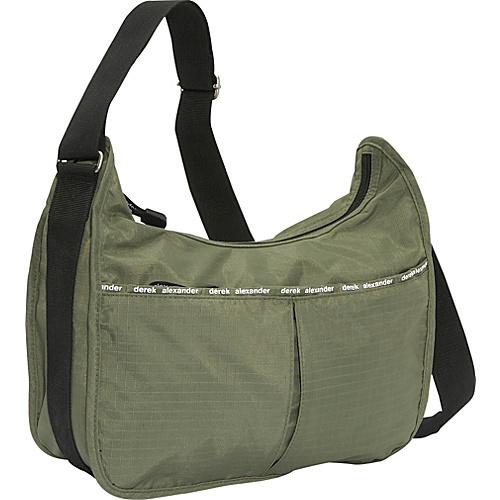 Derek Alexander Hobo Style Bag With Organizer - Cross Body