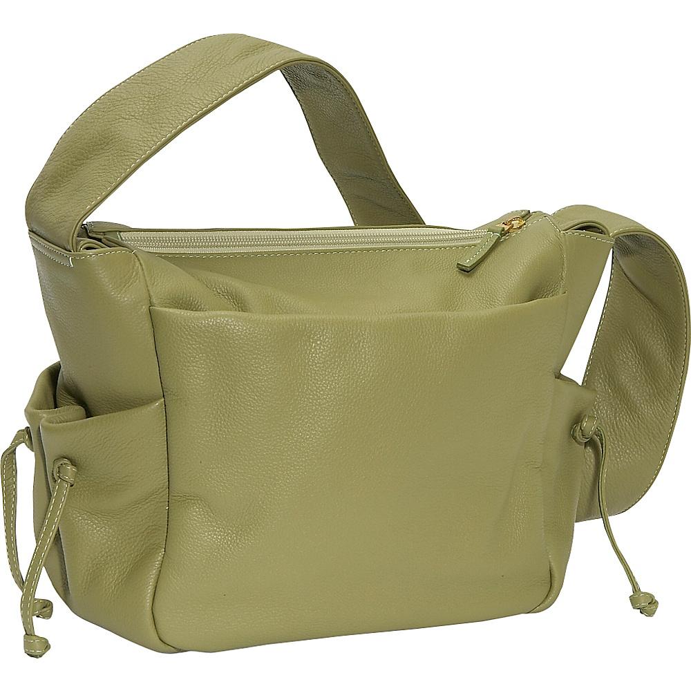J. P. Ourse & Cie. Open Trails Jr. - Kiwi - Handbags, Leather Handbags