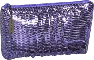 Whiting and Davis Classic Soft Shirred Clutch - Clutch