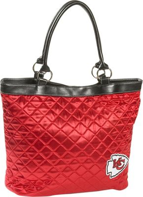 Littlearth Quilted Tote - Kansas City Chiefs Kansas City Chiefs - Littlearth Fabric Handbags