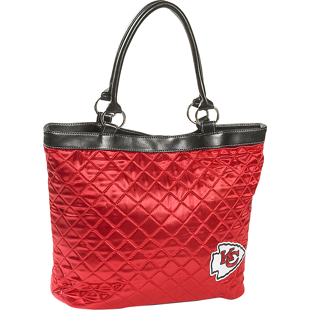 Littlearth Quilted Tote - Kansas City Chiefs Kansas City Chiefs - Littlearth Fabric Handbags - Handbags, Fabric Handbags