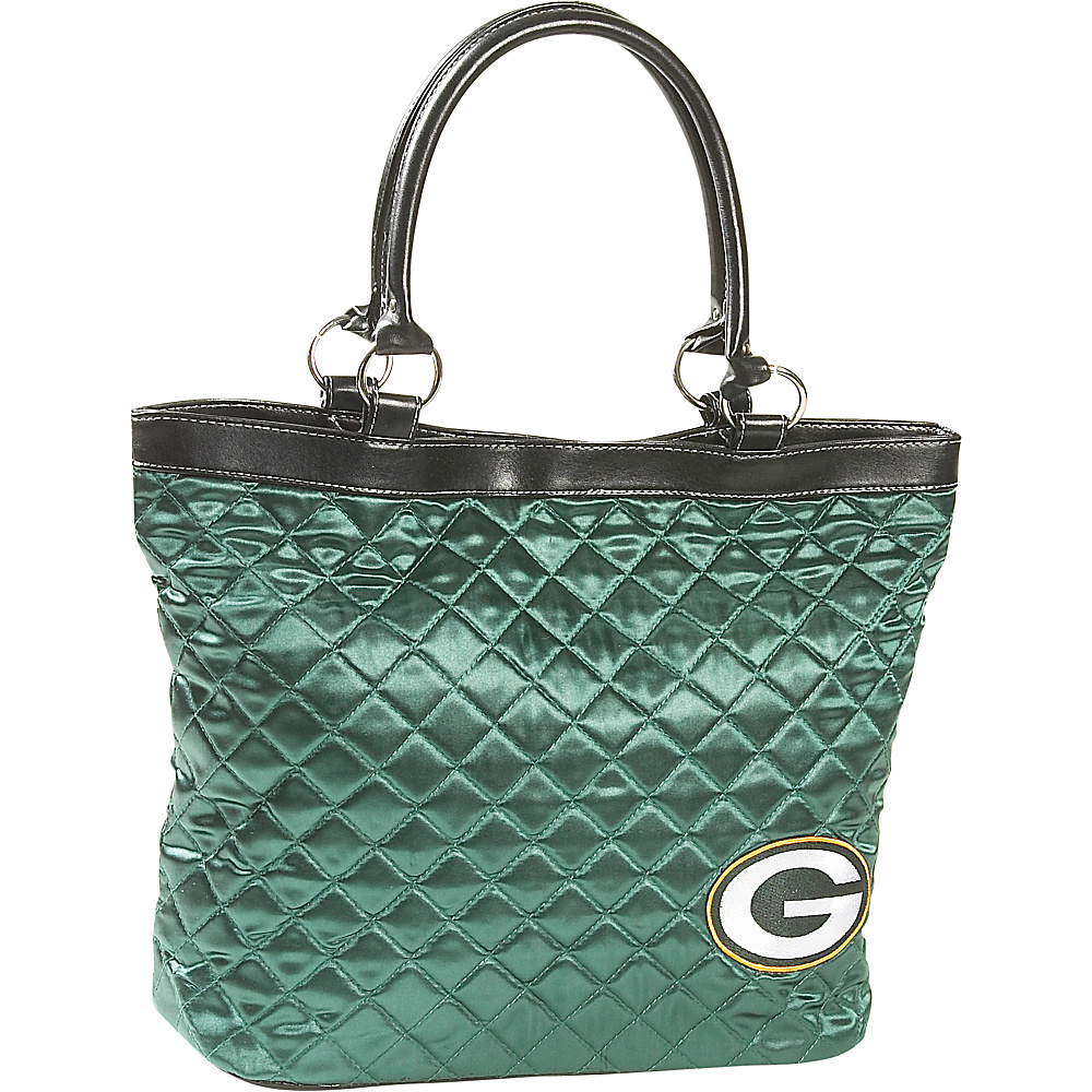 Littlearth Quilted Tote - Green Bay Packers Green Bay Packers - Littlearth Fabric Handbags