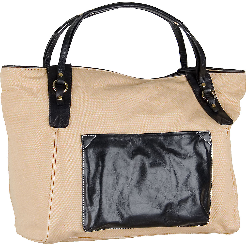 Boulevard Sunday Tote Black Boulevard Fabric Handbags