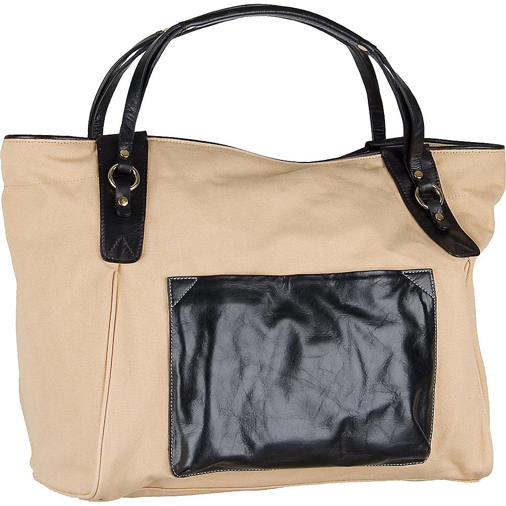 Boulevard Sunday Tote Black - Boulevard Fabric Handbags