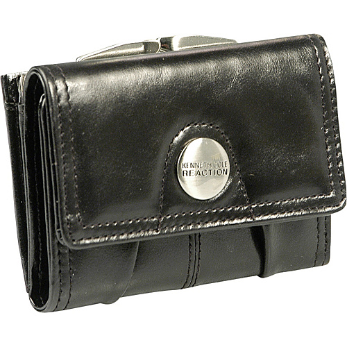 Kenneth Cole Reaction Wallets Button Up Frame Flap