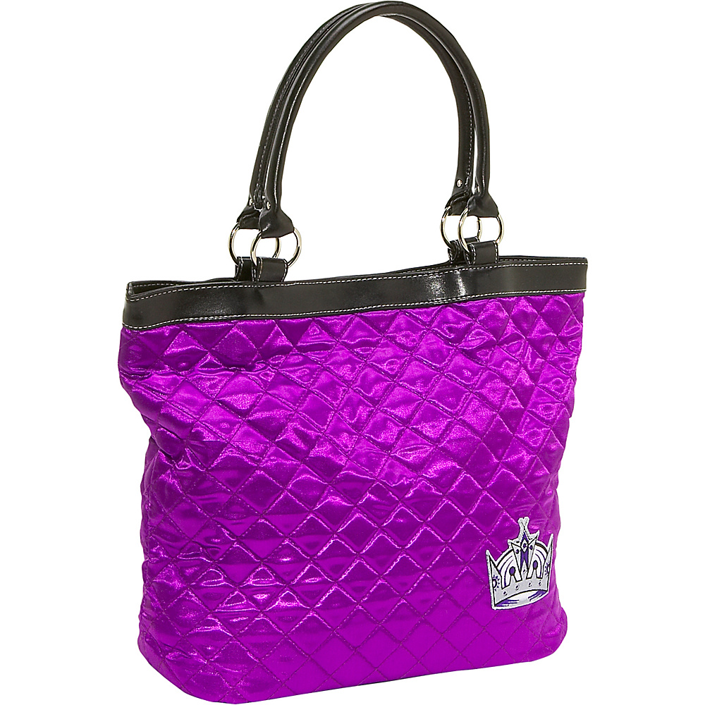 Littlearth Quilted Tote - Los Angeles Kings Los Angeles Kings - Littlearth Fabric Handbags - Handbags, Fabric Handbags