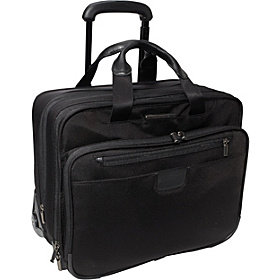 15.4'' Executive Expandable Rolling Brief Black