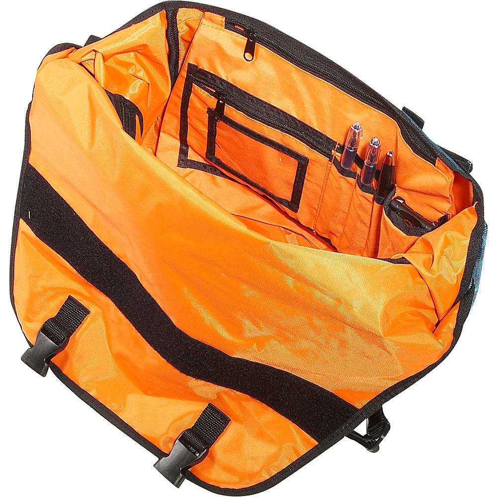 Ice Red Drift Messenger Bag - Small - Grey/Blue