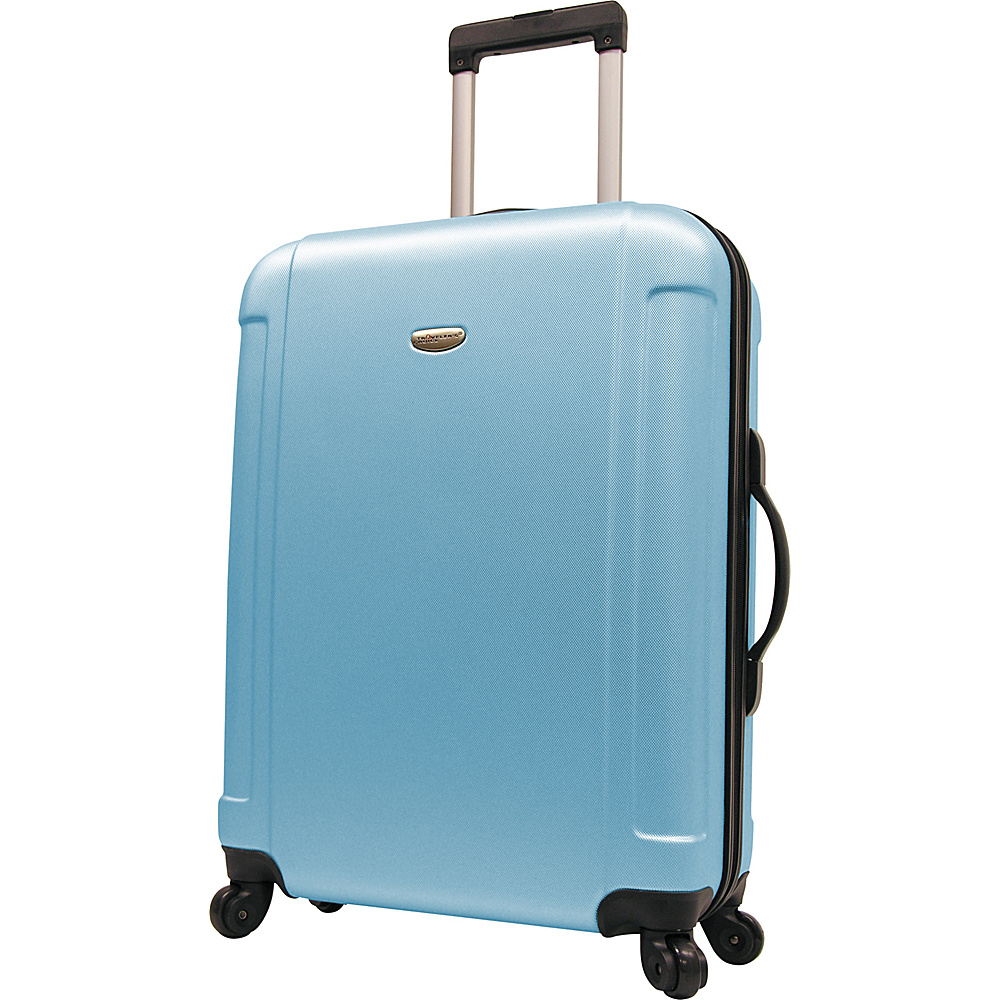 Travelers Choice Freedom 29 in. Hardshell Spinner Upright Arctic Blue - Travelers Choice Hardside Checked - Luggage, Hardside Checked