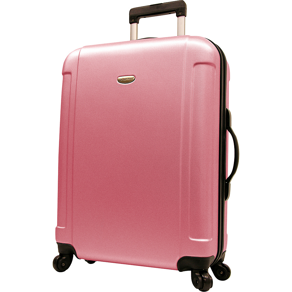 Travelers Choice Freedom 29 in. Hardshell Spinner Upright Dusty Rose - Travelers Choice Hardside Checked - Luggage, Hardside Checked