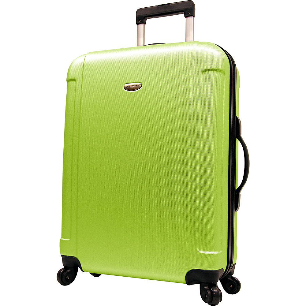 Travelers Choice Freedom 29 in. Hardshell Spinner Upright Apple Green - Travelers Choice Hardside Checked - Luggage, Hardside Checked