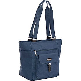 Town Tote Navy/Leaf Green