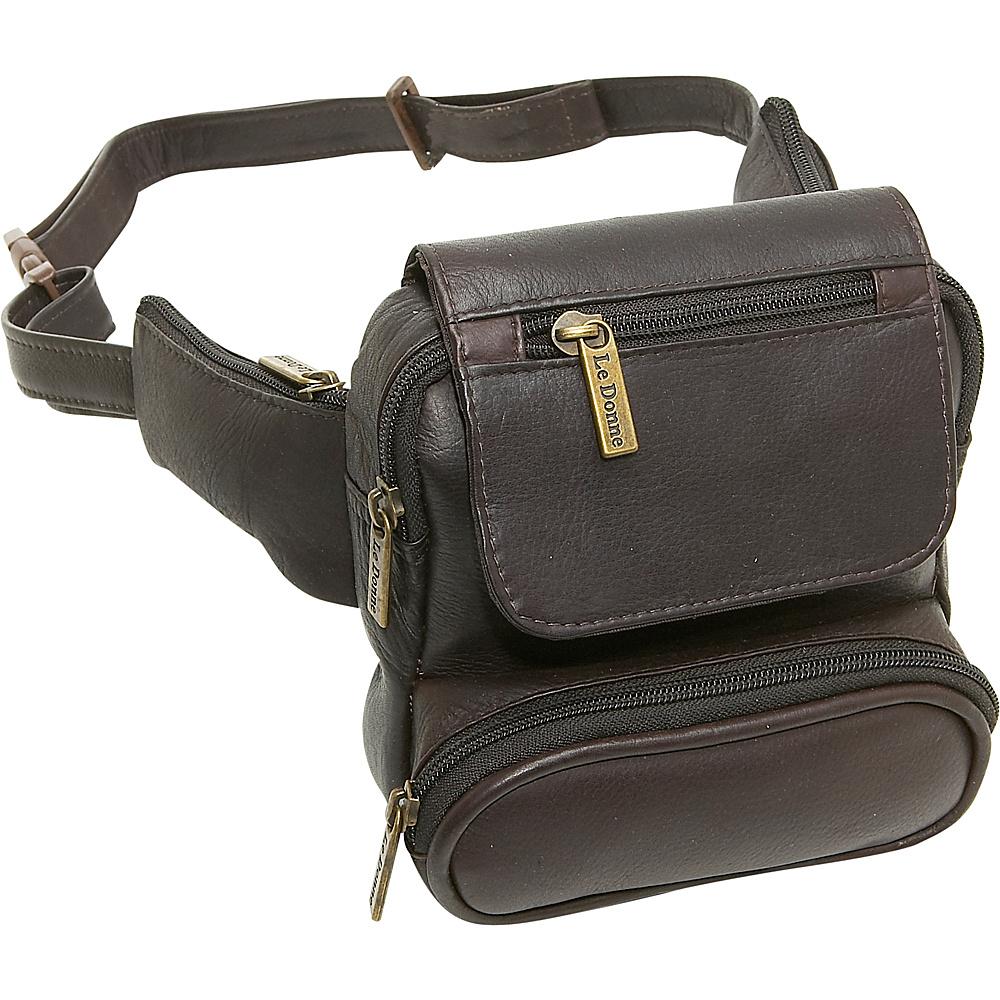 Le Donne Leather Traveler Waist Bag - Caf - Backpacks, Waist Packs