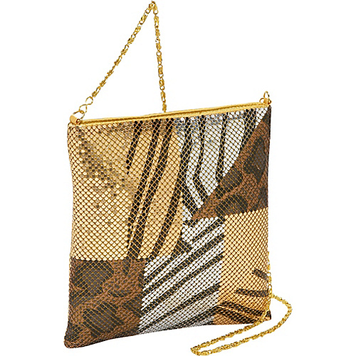 Prezzo Large Metal Mesh Cross Body - Shoulder Bag