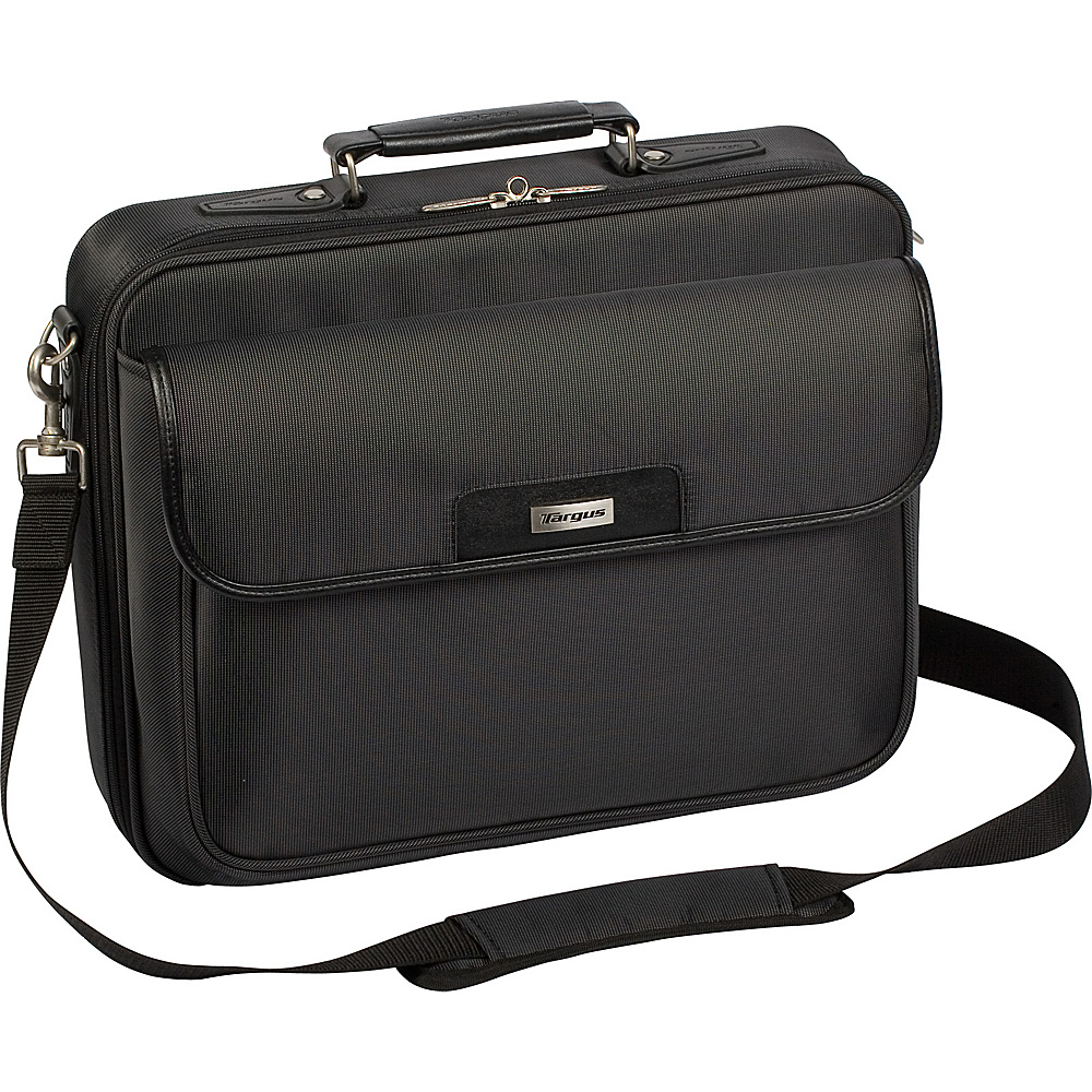 Targus Zip- Thru Traditional Laptop Case - Black - Work Bags & Briefcases, Non-Wheeled Business Cases