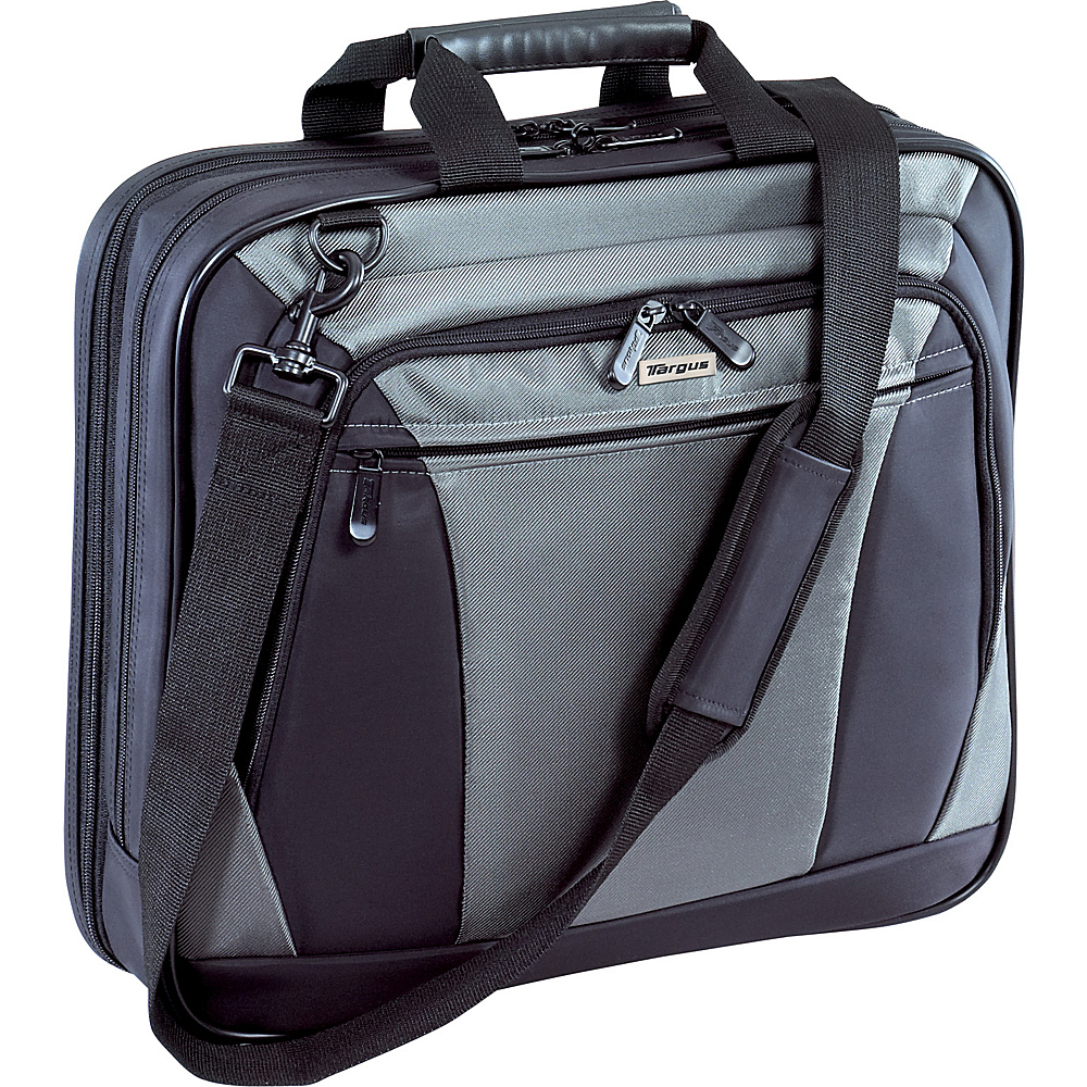 Targus CityLite 16 Notebook Case Black/Grey - Targus Non-Wheeled Business Cases - Work Bags & Briefcases, Non-Wheeled Business Cases
