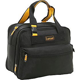16'' Exp Deluxe Tote Black/ Yellow