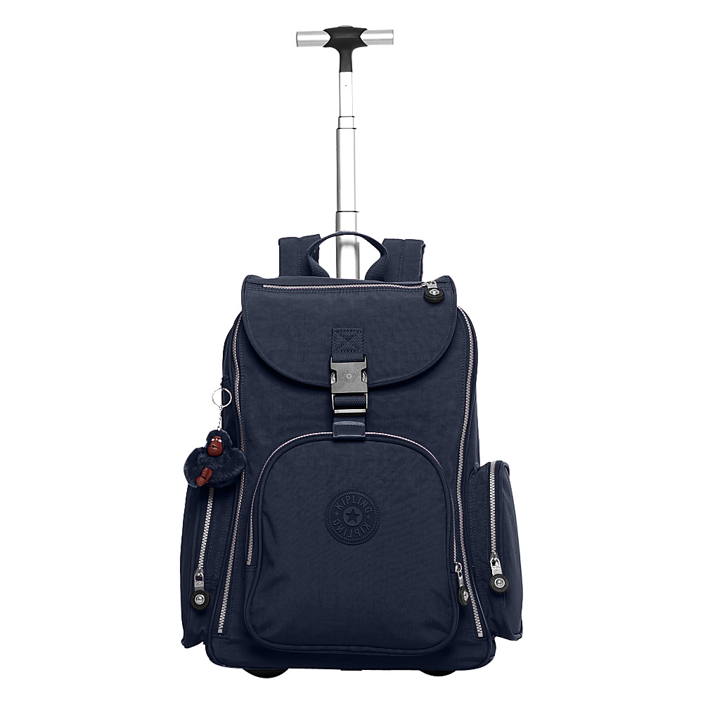 Kipling Alcatraz II Rolling Backpack True Blue - Kipling Wheeled Backpacks - Backpacks, Wheeled Backpacks