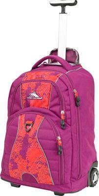 Purple Rolling Backpack cTPEKjkB