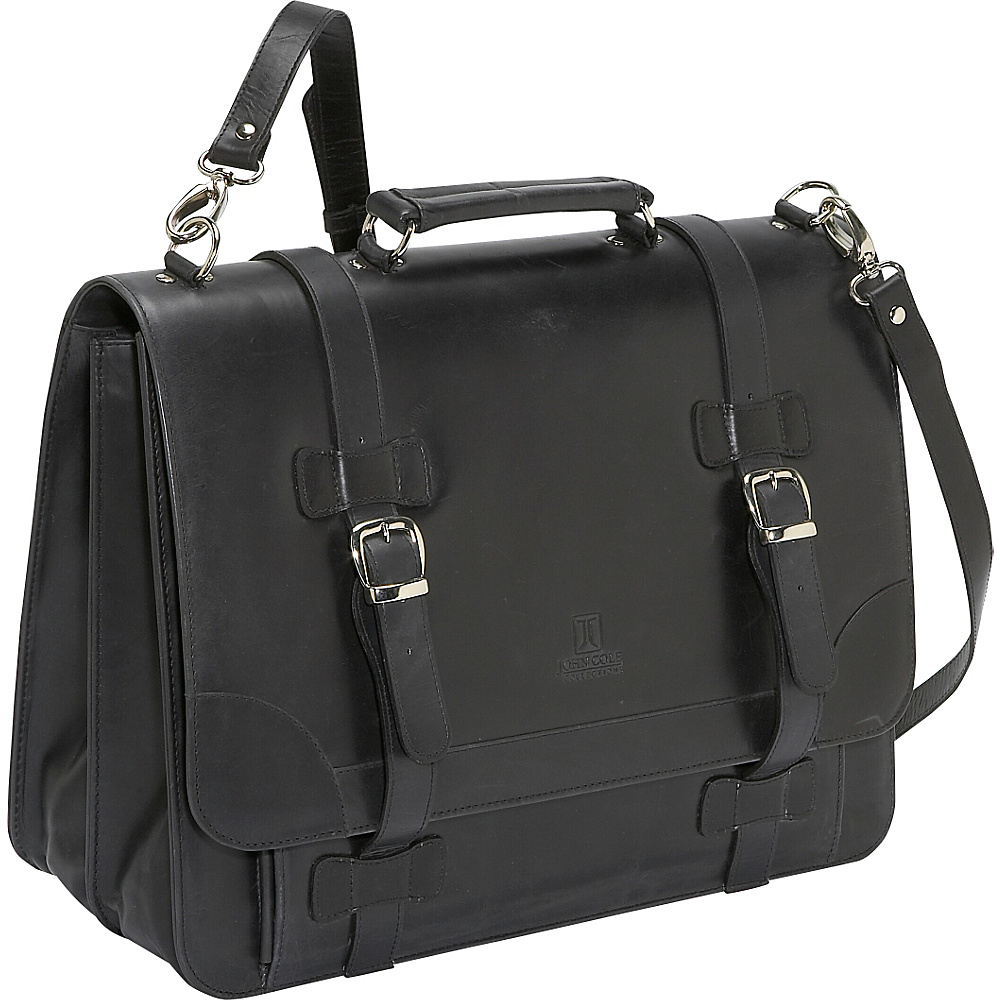 John Cole Thomas Black - John Cole Non-Wheeled Business Cases - Work Bags & Briefcases, Non-Wheeled Business Cases