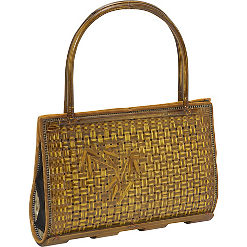 Global Elements Bamboo Tree Handbag