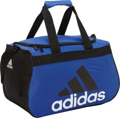 adidas Diablo Small Duffel Bold Blue/Black/White - adidas Gym Duffels