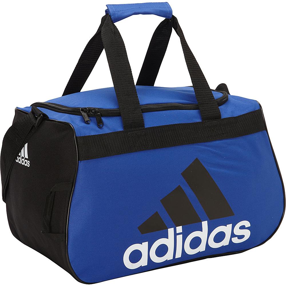 adidas Diablo Small Duffel Bold Blue Black White adidas Gym Duffels