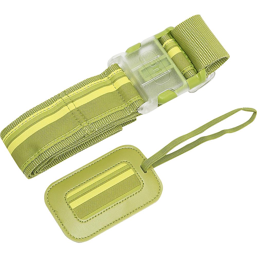 Lug Life Luggage Belt/Tag Stripe - Grass - Travel Accessories, Luggage Accessories