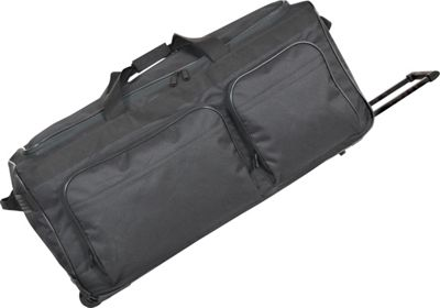 Netpack 30 inch Travel Light II Wheeled Duffel - Black