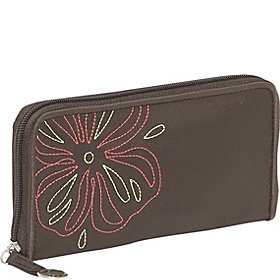 RFID Ladies Wallet Brown