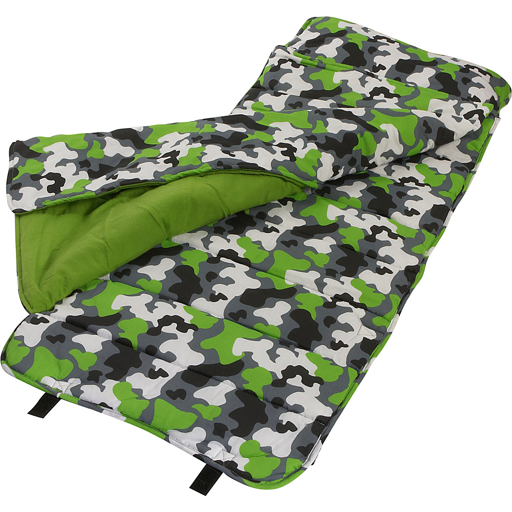 Wildkin Camouflage Nap Mat - Camouflage - Travel Accessories, Travel Pillows & Blankets