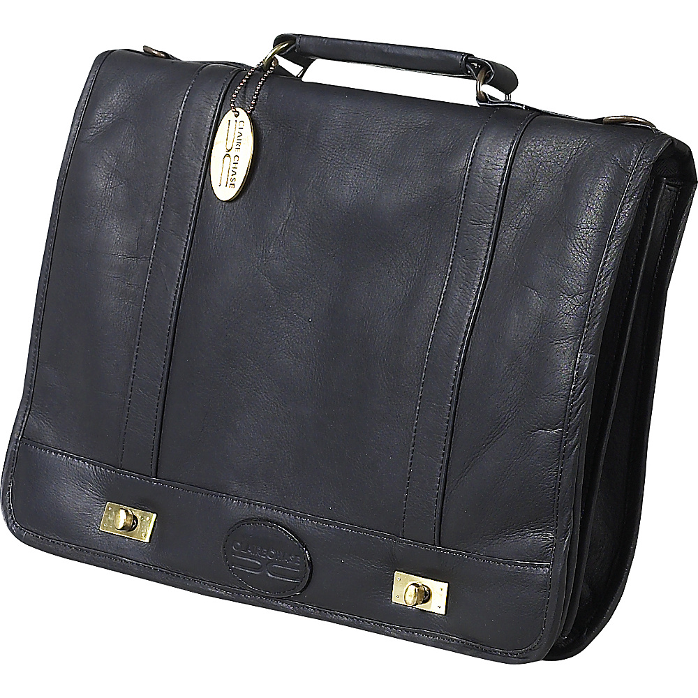 ClaireChase Messenger Brief - Black - Work Bags & Briefcases, Messenger Bags
