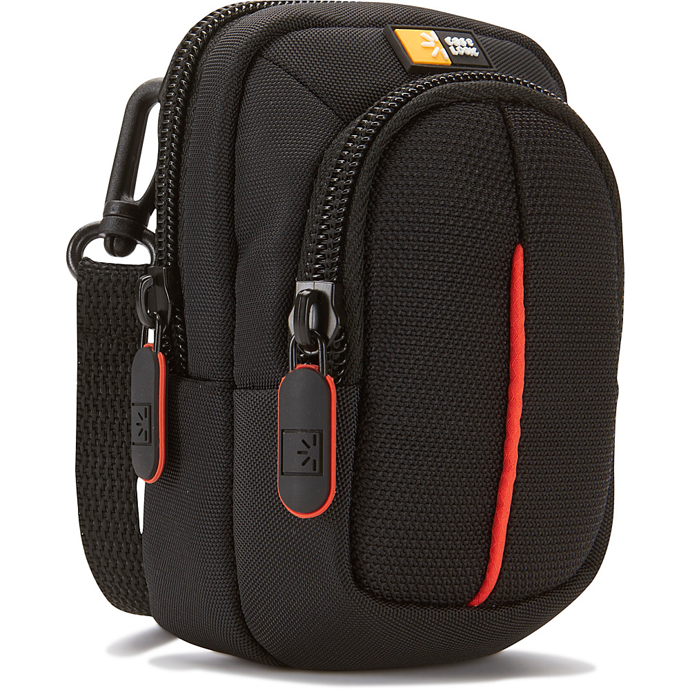 Case Logic Compact Camera Case with Storage - Black - Technology, Camera Accessories