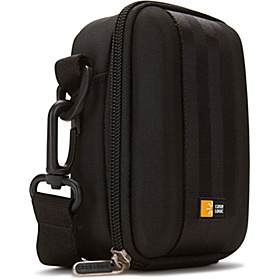 Medium Camera and Flash Camcorder Case Black