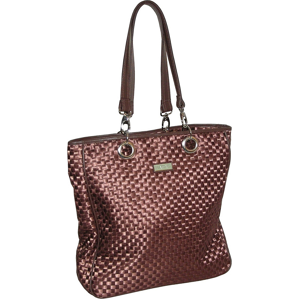 Hadaki Mega Tote - Ribbon Chocolate - Handbags, Manmade Handbags