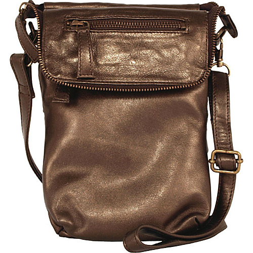 Latico Leathers Mina - Metallic Brown